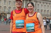 London Marathon Special PC's message to wife